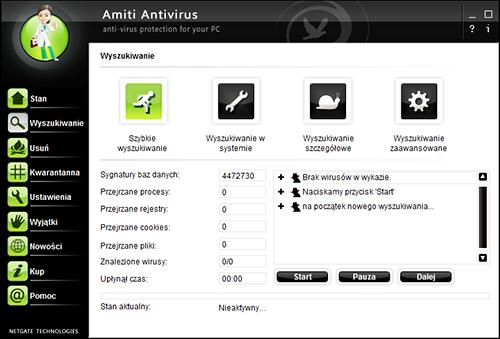 Netgate Amiti Antivirus 2018 v 24.0.700 (32x64) (PL)